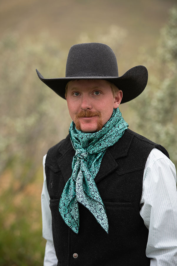 CLEARANCE! Wild Rags Western Equine Ranch Rodeo Cowboy Buckaroo Silk